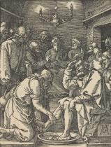 Dürer. CHRIST WASHING ST. PETERS'S FEET
